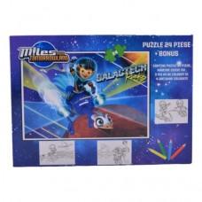 Puzzle Miles-24 piese+cadou