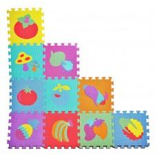 Puzzle burete-fructe si legume