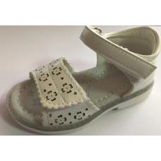 Sandale albe ortopedice