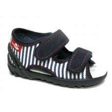 Sandale ortopedice-albastru