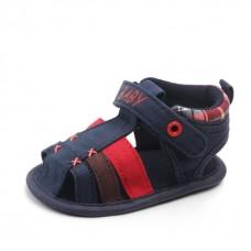 Sandale baietei bleumarine
