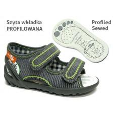 Sandale ortopedice-gri