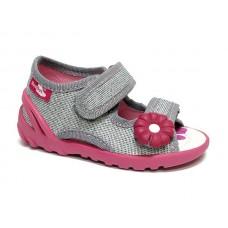 Sandale ortopedice-fete-gri