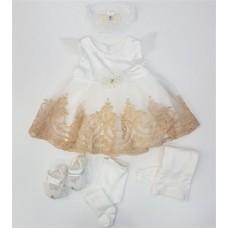 Set rochita sarafan pentru fetite-0-3 luni