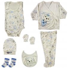 Set 7 piese pentru bebe,albastru