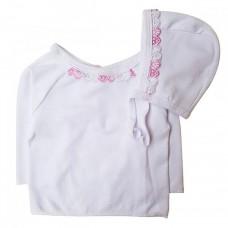 Set Bluza cu Caciula,roz