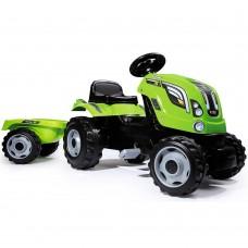 Tractor cu remorca,Detalii realiste la motor,Dimensiuni produs (LxlxH): 142 x 44 x 54,5 cm