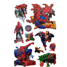 Sticker Print 8D-60cm,Spiderman