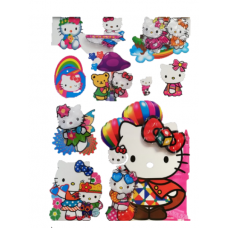 Sticker Print 8D-60cm,Hello Kitty