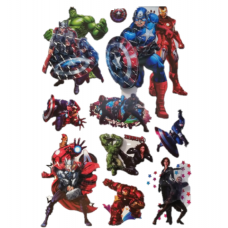 Sticker Print 8D-60cm,Transformers