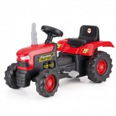 Tractor Cu Pedale, Rosu, 53x83x45 - Dolu