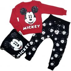 Trening cu ghiozdan-Mickey Mouse