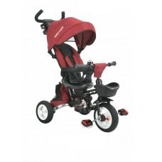Tricicleta pliabila,cu scaun reversibil-Rosie
