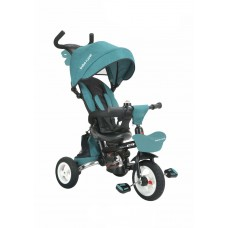 Tricicleta pliabila,cu scaun reversibil si rabatabil -Albastra