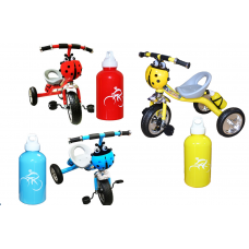 Tricicleta,Cadru metalic,Muzicala,Recipient pentru apa inclus
