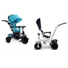 Tricicleta Multifunctionala,8-36 luni,Scaun rotativ 360 grade,Pozitie de somn,Mufa MP3 inclusa,Maner ergonomic