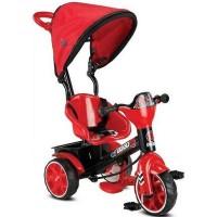 Tricicicleta evolutiva si ultrausoara,cu maner parental,consola muzicala si pedale pliabile