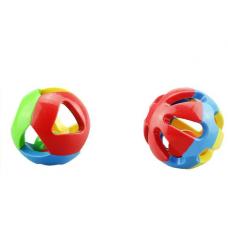 Set 2 mingi cu clopotel pentru copii